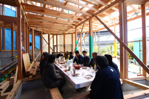 photo: 生駒の家2 上棟