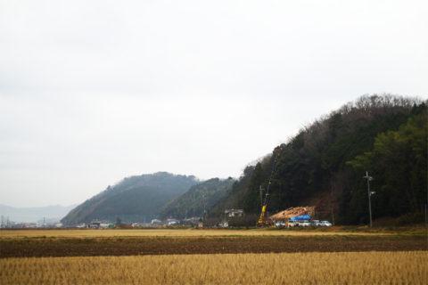photo: 篠山の家 上棟