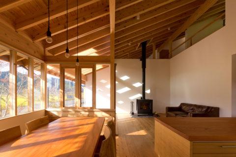 photo: 丹波篠山の家 (アトリエ+住居)